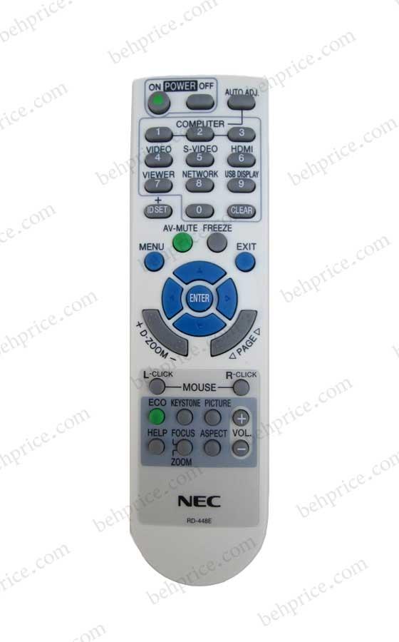 کنترل از راه دور پروژکتور NEC-np-VE281X