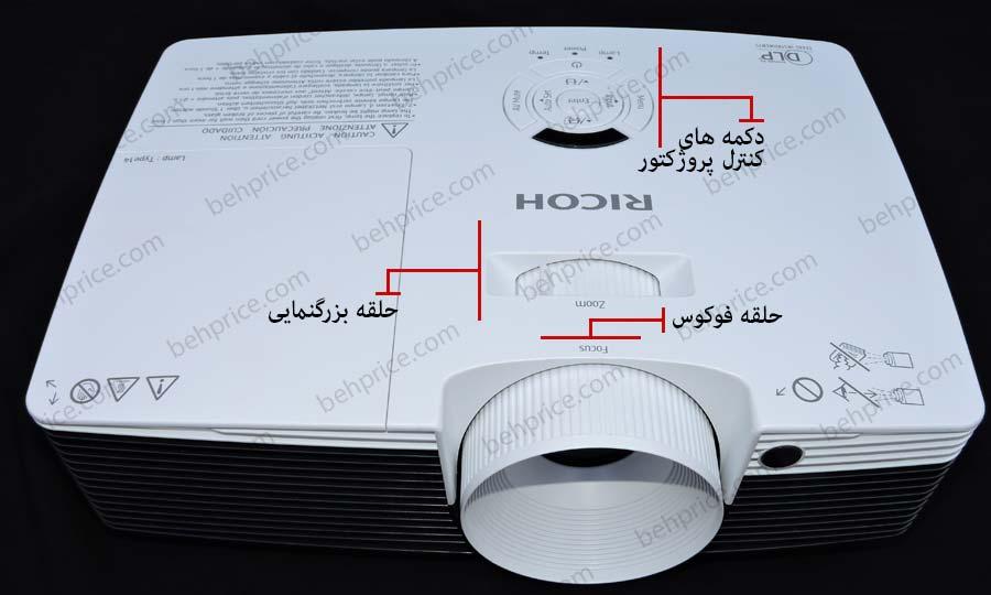 حلقه بزرگنمایی پروژکتور Ricoh PJ-X2240
